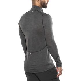 Devold Running Camiseta Manga larga Cuello Cremallera Hombre, anthracite